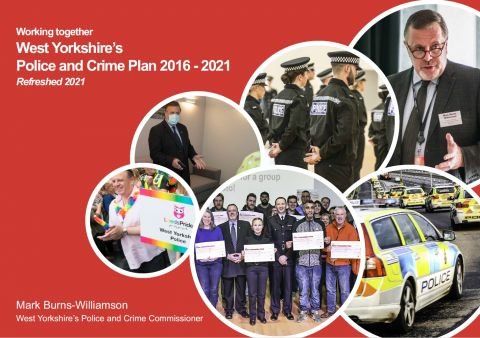 Police and Crime Plan cover