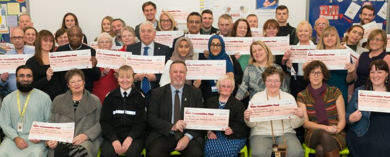 An image of the Safer Communities Fund Awards Event for grant round 14