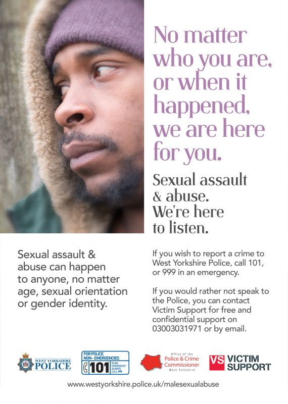 Sexual Abuse Poster Version 3