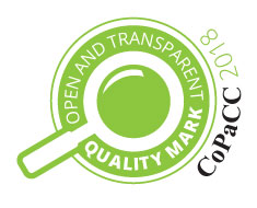 Open and Transparent Quality Mark 2018